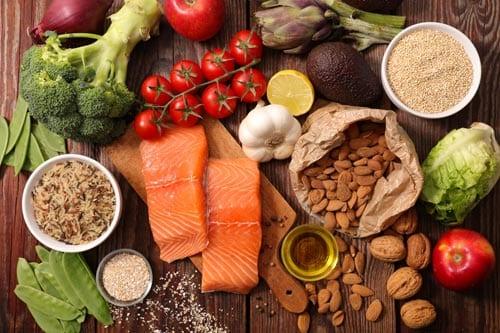 foods high in vitamins