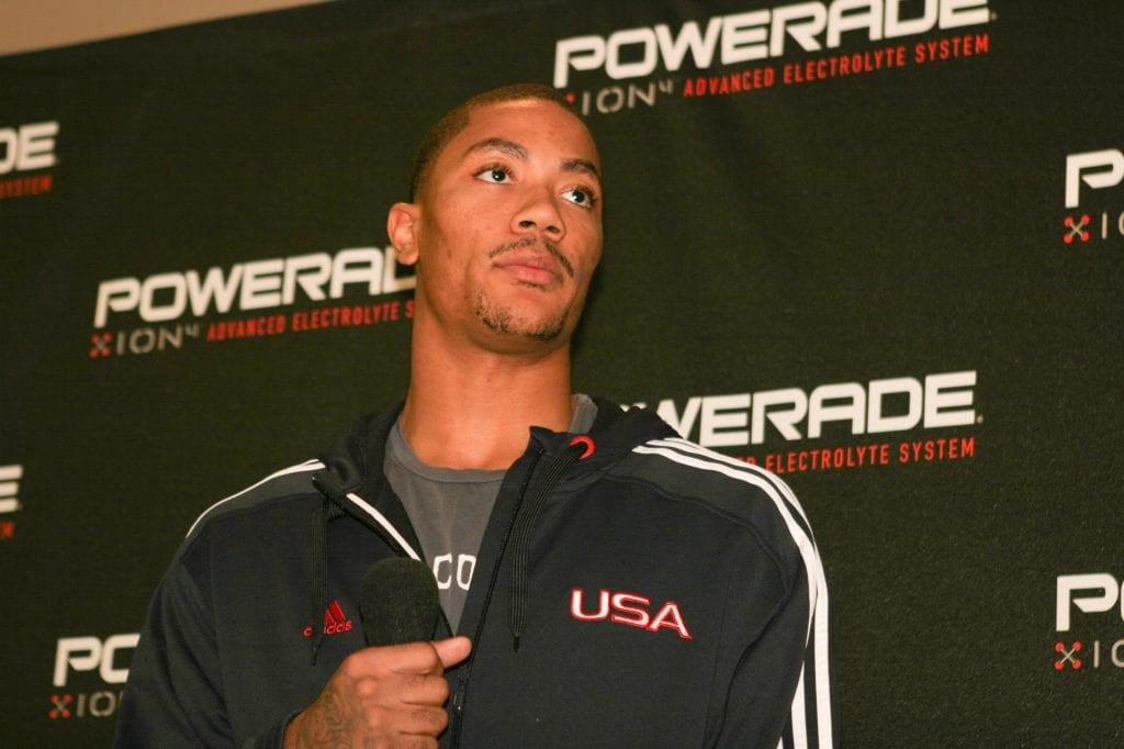 NBA Star Derrick Rose
