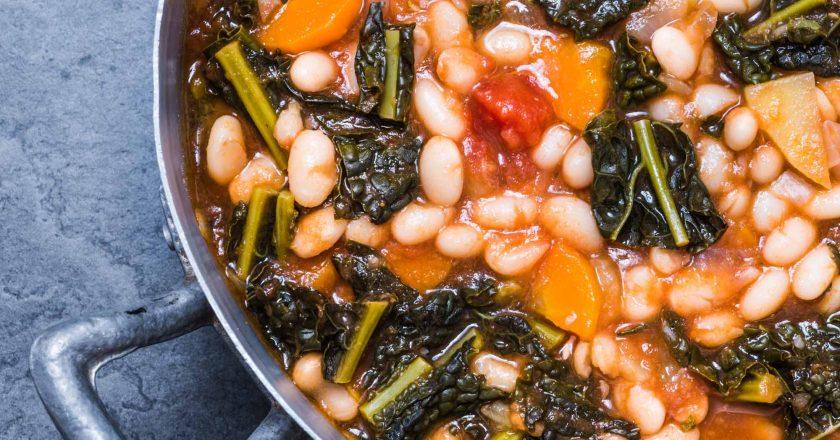 Warming sausage Stew