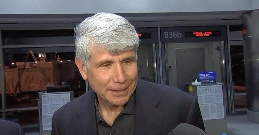 Rod Blagojevich freshly released from prison Tuesday evening