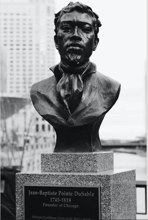 DuSable founded Chicago