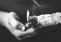 Sage cleansing is perfect for bringing in new energy