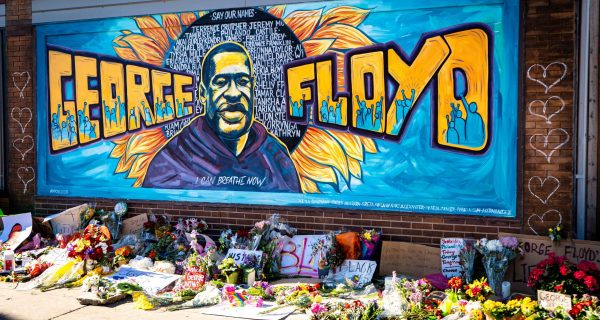 George Floyd protests power on as he is put to rest