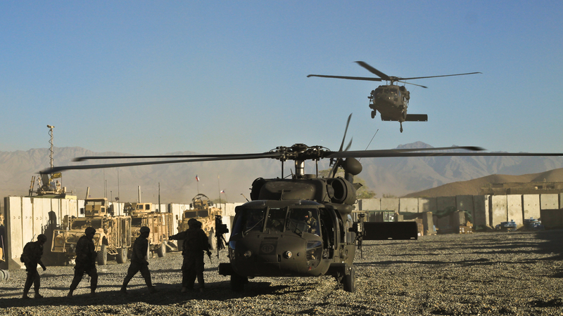 US Troops Withdraw from Afghanistan Ending 20-Year War