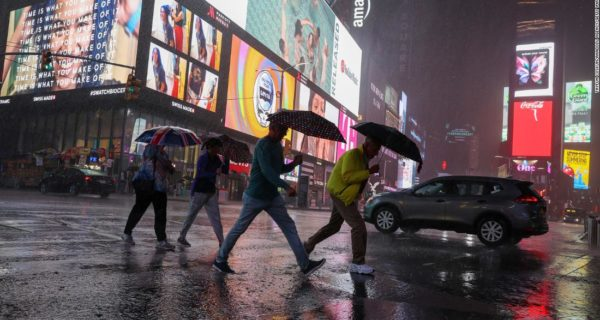 State of Emergency Declared in New York Following Tropical Storm Ida