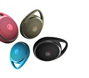 Singing in the shower is easier with the SoundDew Bluetooth speaker